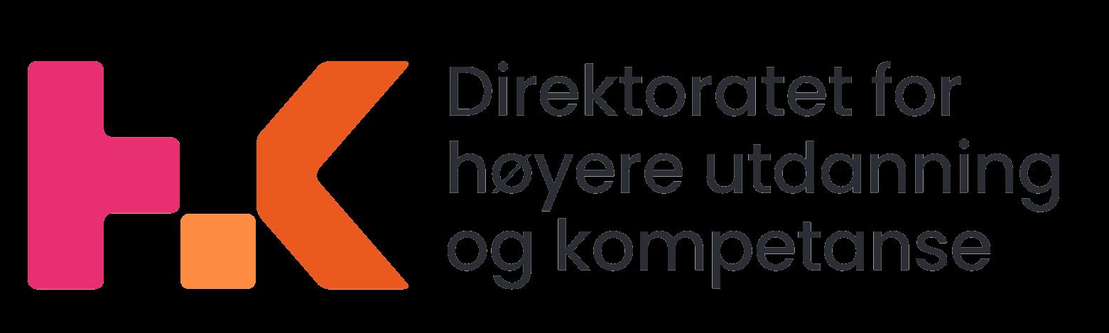 Logo: Direktoratet for høyere utdanning og kompetanse